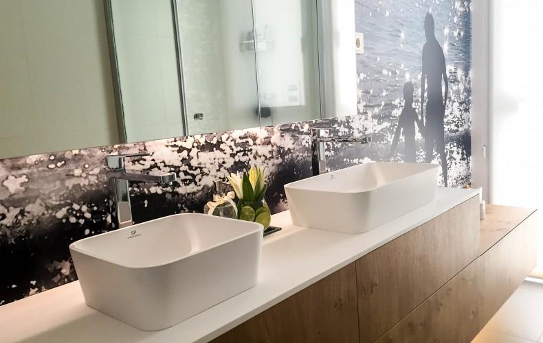 Decoración o Reforma de cuarto de baño.